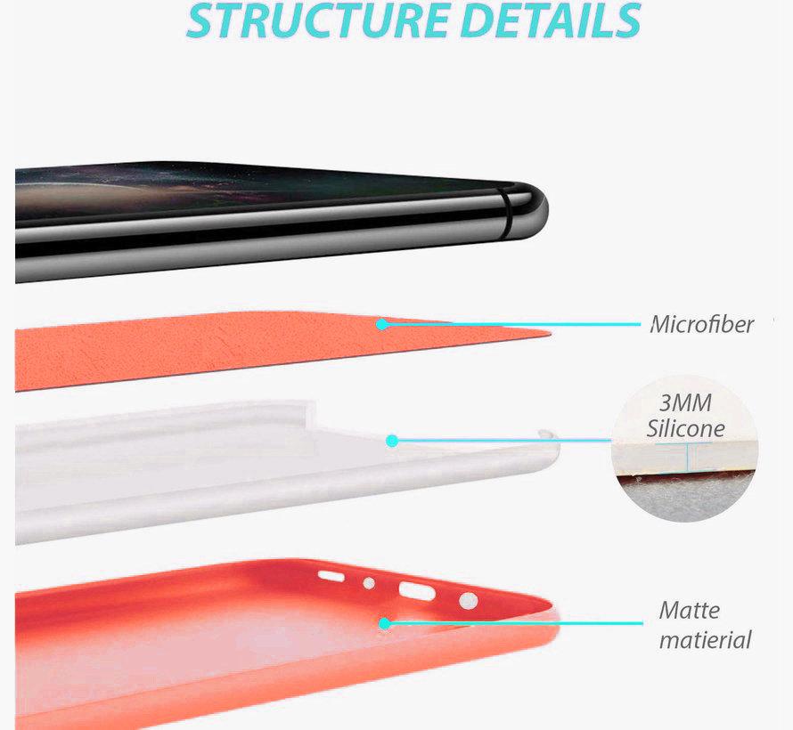 Shieldcase Silicone case Samsung Galaxy S20 Plus (oranje)