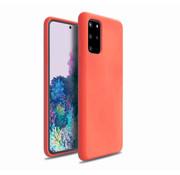 ShieldCase® Silicone case Samsung Galaxy S20 Plus (oranje)