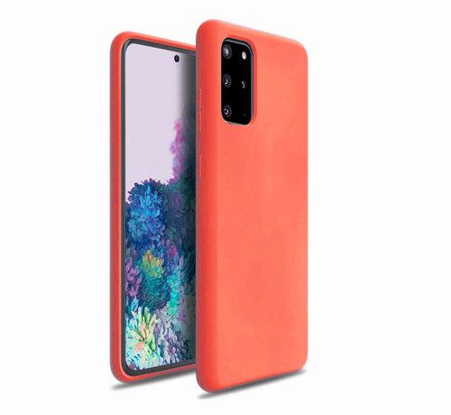 ShieldCase Shieldcase Silicone case Samsung Galaxy S20 Plus (oranje)