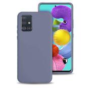 ShieldCase® Siliconen hoesje Samsung Galaxy A51 (lavendel grijs)