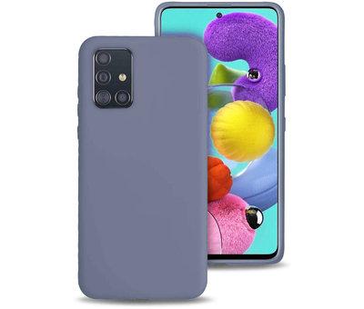 ShieldCase Shieldcase siliconen hoesje Samsung Galaxy A51 (lavendel grijs)