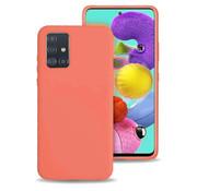 ShieldCase Siliconen hoesje Samsung Galaxy A51 (oranje)