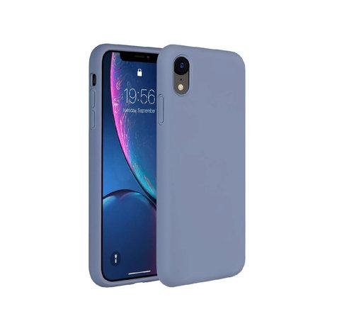 ShieldCase® ShieldCase Silicone case iPhone Xr (lavendel grijs)