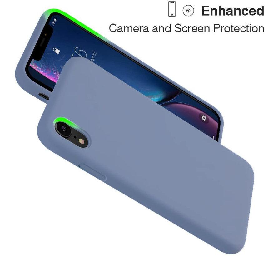 ShieldCase Silicone case iPhone Xr (lavendel grijs)