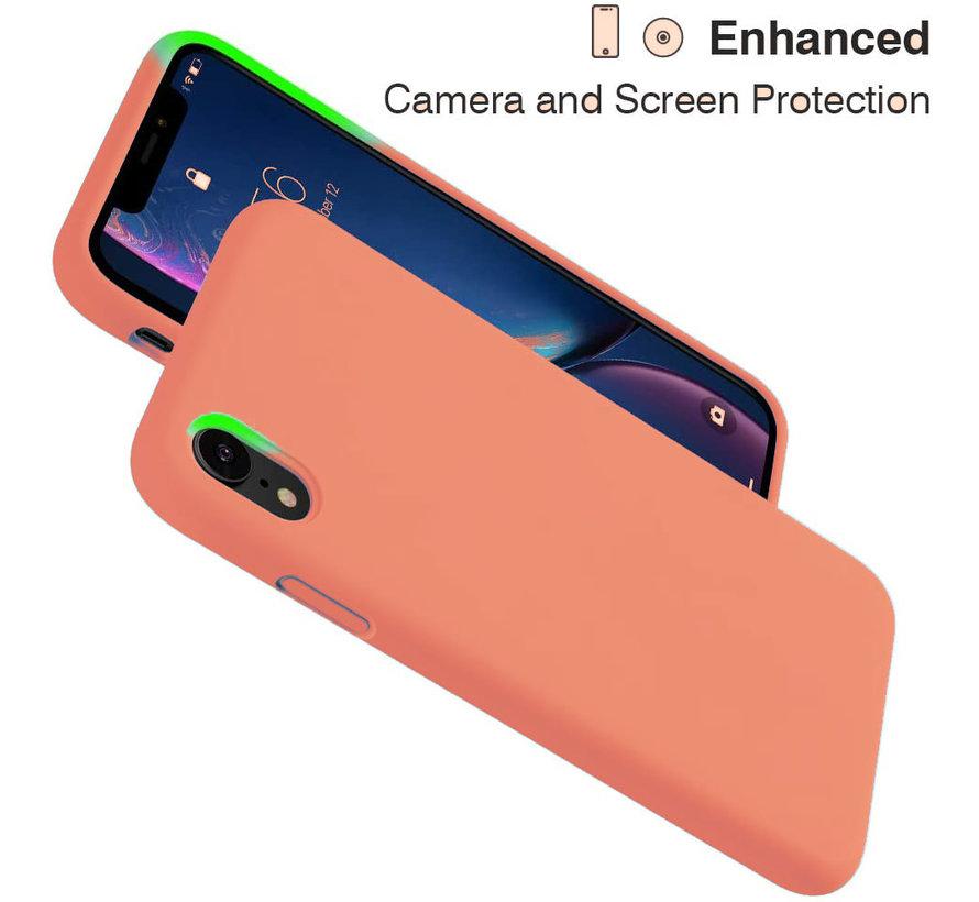 ShieldCase Silicone case iPhone Xr (oranje)