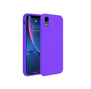 ShieldCase® Silicone case iPhone Xr (donkerpaars)