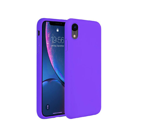 ShieldCase ShieldCase Silicone case iPhone Xr (donkerpaars)