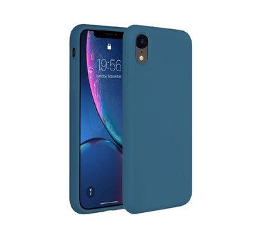 ShieldCase® Shieldcase Silicone case iPhone Xr (blauw)