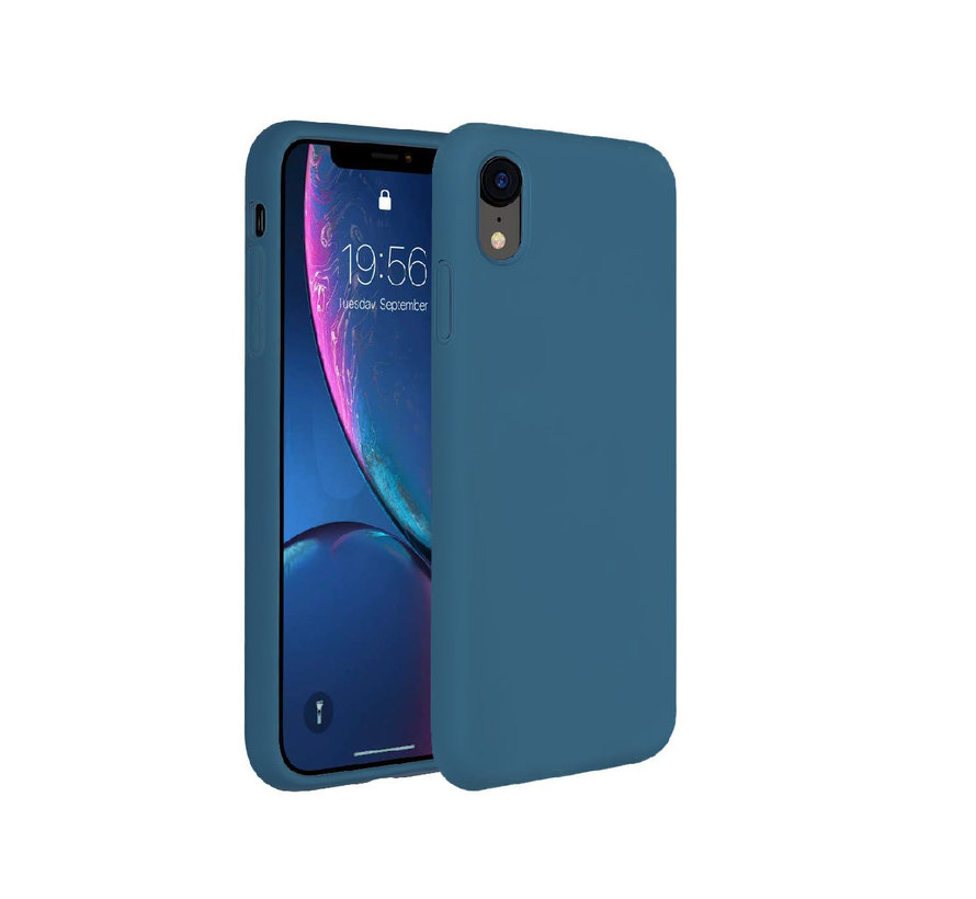 Shieldcase Silicone case iPhone Xr (blauw)