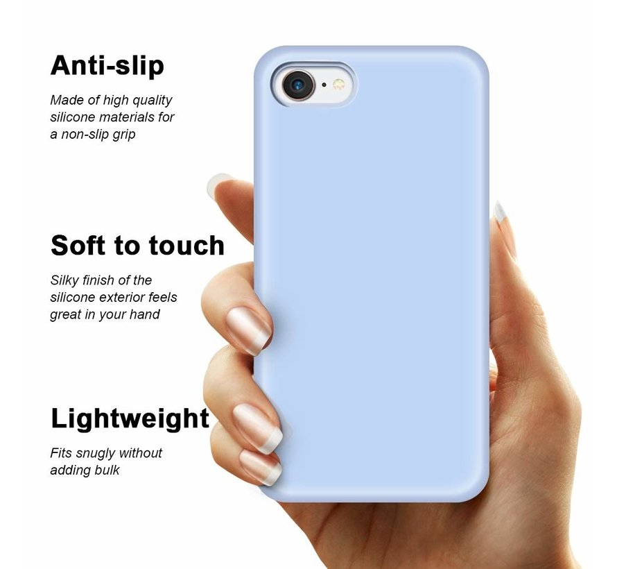Shieldcase Silicone case iPhone SE 2020 (paars)