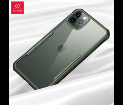 ShieldCase® ShieldCase Shock case met gekleurde bumpers iPhone 11 Pro (groen)
