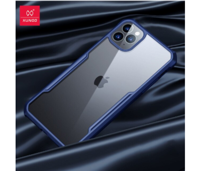 ShieldCase ShieldCase Shock case met gekleurde bumpers iPhone 11 Pro (blauw)