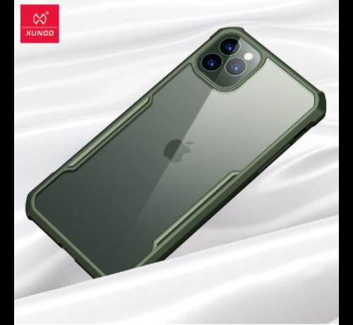 ShieldCase ShieldCase Shock case met gekleurde bumpers iPhone 11 Pro Max (groen)