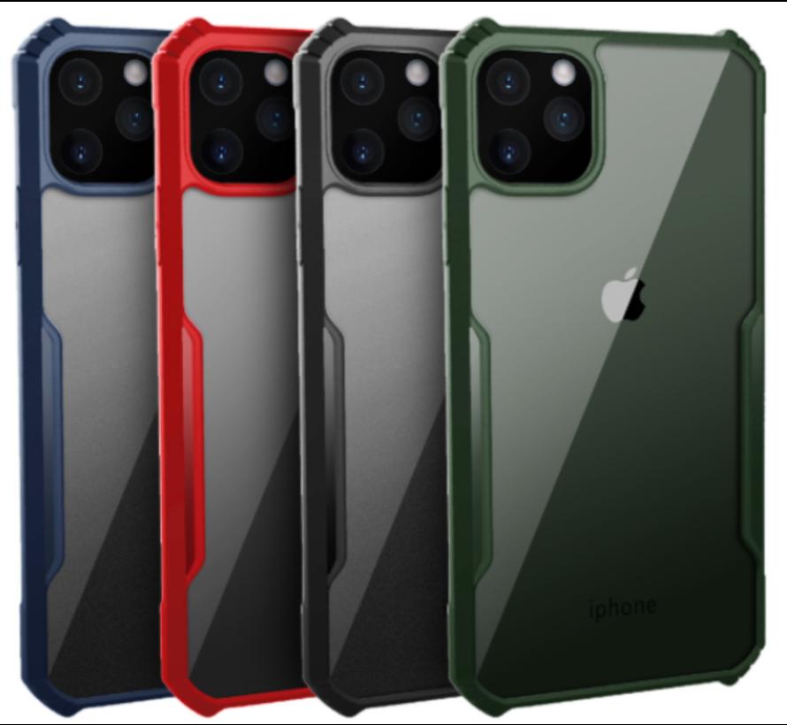 ShieldCase Shock case met gekleurde bumpers iPhone 11 Pro Max (groen)