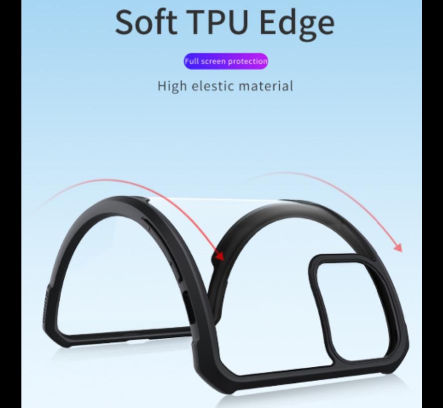 ShieldCase Shock case met gekleurde bumpers iPhone 11 Pro Max (rood)
