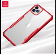 ShieldCase® Shock case met gekleurde bumpers iPhone 11 Pro Max (rood)