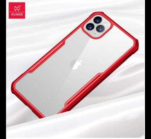 ShieldCase® ShieldCase Shock case met gekleurde bumpers iPhone 11 Pro Max (rood)