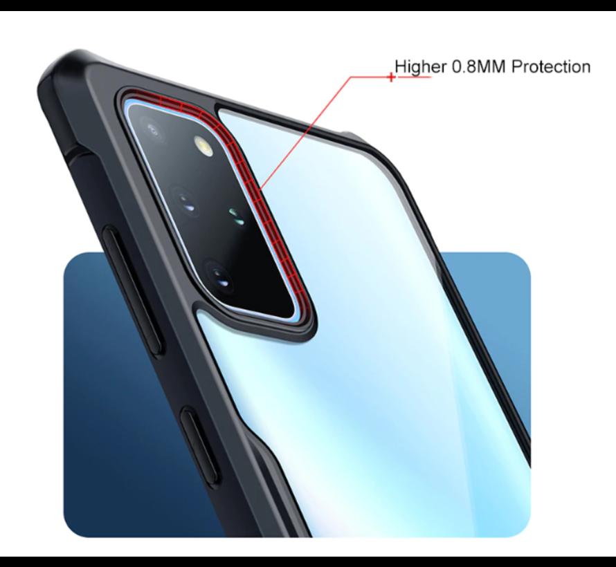 ShieldCase Samsung Galaxy A71 Bumper case (zwart)