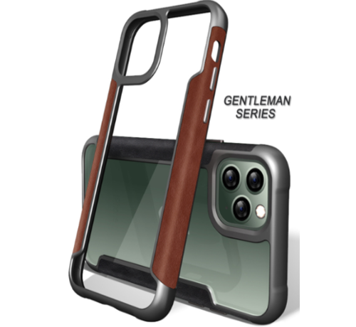 ShieldCase® ShieldCase Shock case iPhone 11 Pro (leer)