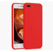 ShieldCase® Siliconen hoesje met camera bescherming iPhone 7 Plus / 8 Plus (rood)