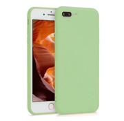 ShieldCase® Siliconen hoesje met camera bescherming iPhone 7 Plus / 8 Plus (lichtgroen)