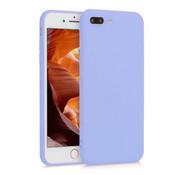 ShieldCase® Siliconen hoesje met camera bescherming iPhone 7 Plus / 8 Plus (paars)