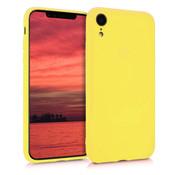 ShieldCase Siliconen hoesje met camera bescherming iPhone Xr (geel)
