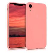 ShieldCase Siliconen hoesje met camera bescherming iPhone Xr (roze)