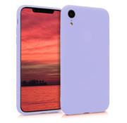 ShieldCase Siliconen hoesje met camera bescherming iPhone Xr (paars)