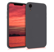 ShieldCase® Siliconen hoesje met camera bescherming iPhone Xr (zwart)