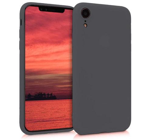 ShieldCase® Shieldcase Siliconen hoesje met camera bescherming iPhone Xr (zwart)