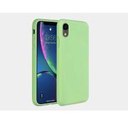 ShieldCase® Silicone case iPhone Xr (lichtgroen)