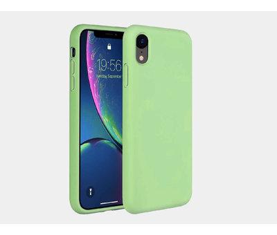 ShieldCase® ShieldCase Silicone case iPhone Xr (lichtgroen)