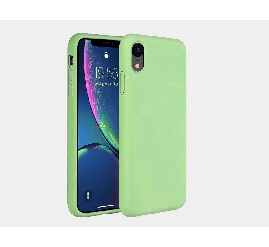 ShieldCase Silicone case iPhone Xr (lichtgroen)