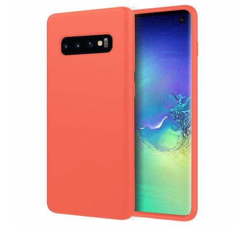ShieldCase® Shieldcase Silicone case Samsung Galaxy S10 (oranje)
