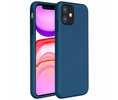 ShieldCase ShieldCase Silicone case iPhone 11 Pro Max (blauw)