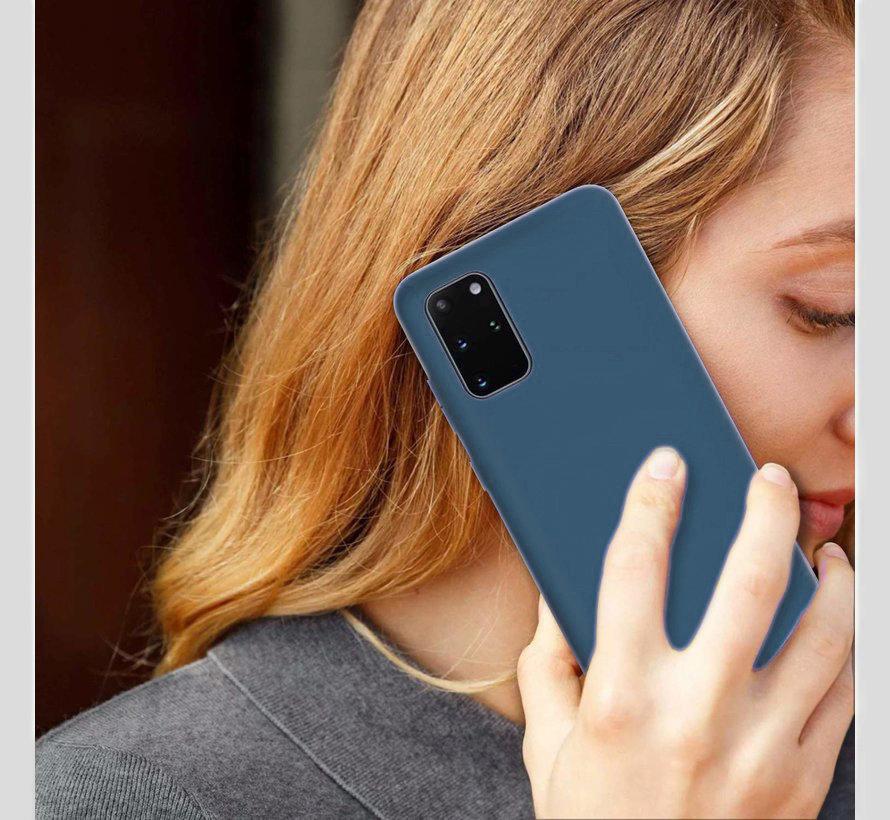 Shieldcase Silicone case Samsung Galaxy S20 Plus (blauw)