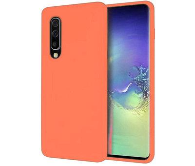 ShieldCase® Shieldcase Silicone case Samsung Galaxy A50 (oranje)