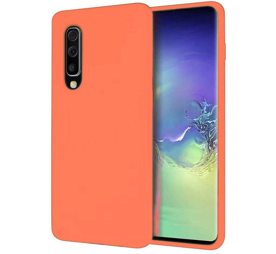 Shieldcase Silicone case Samsung Galaxy A50 (oranje)