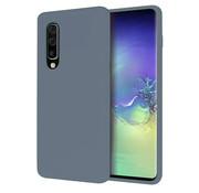 ShieldCase® Silicone case Samsung Galaxy A50 (lavendel grijs)