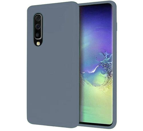 ShieldCase® Shieldcase Silicone case Samsung Galaxy A50 (lavendel grijs)
