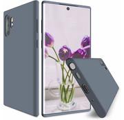 ShieldCase Silicone case Samsung Galaxy Note 10 Plus (lavendel grijs)