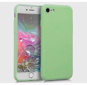 ShieldCase Siliconen hoesje met camera bescherming iPhone SE 2020 (lichtgroen)