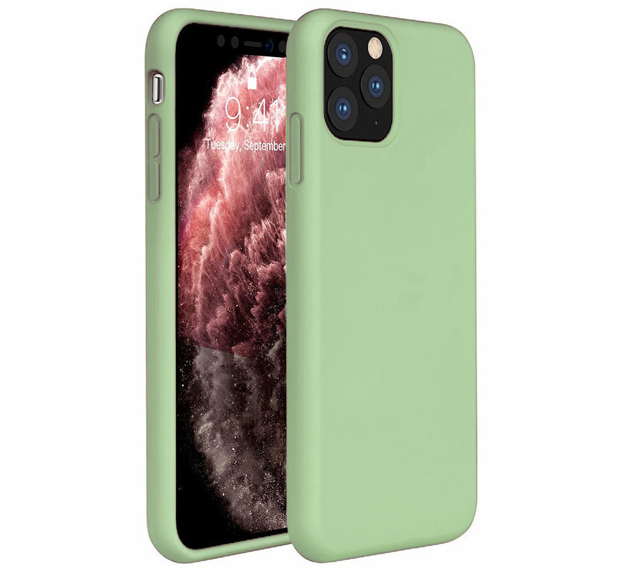 ShieldCase Silicone case iPhone 11 Pro (lichtgroen)