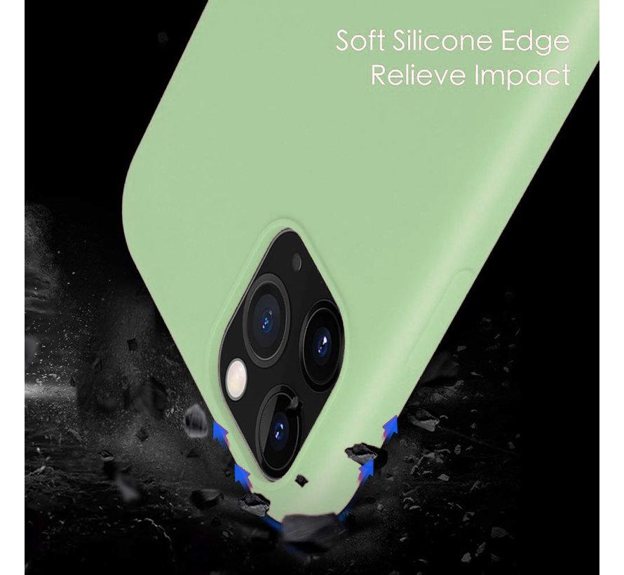 ShieldCase Silicone case iPhone 11 Pro (lichtgroen)