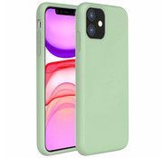 ShieldCase® Silicone case iPhone 11 (lichtgroen)