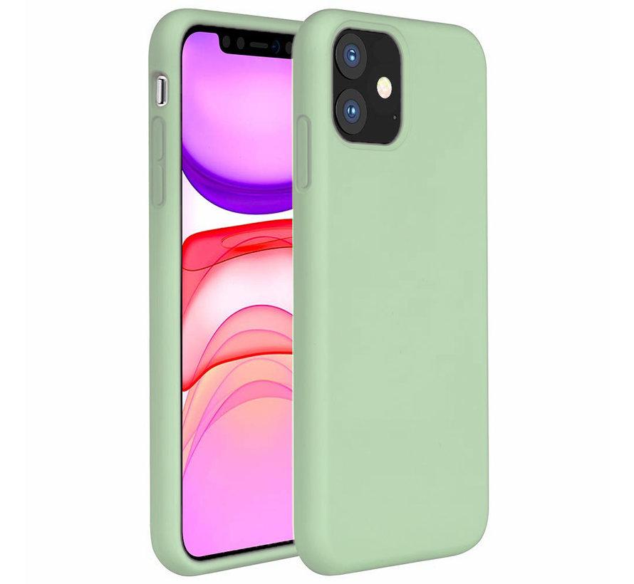 ShieldCase Silicone case iPhone 11 (lichtgroen)