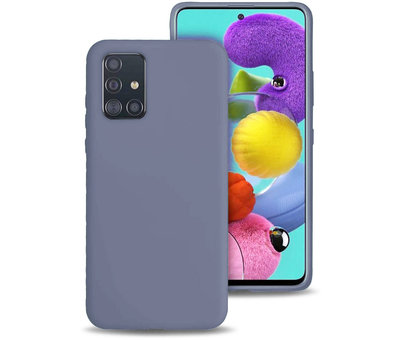 ShieldCase Shieldcase silicone case Samsung Galaxy A71 (lavendel grijs)