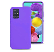 ShieldCase® Silicone case Samsung Galaxy A71 (donkerpaars)