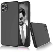 ShieldCase® Siliconen hoesje met camera bescherming iPhone 11 Pro Max (zwart)
